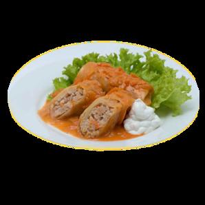 Голубцы с куриным мясом и рисом